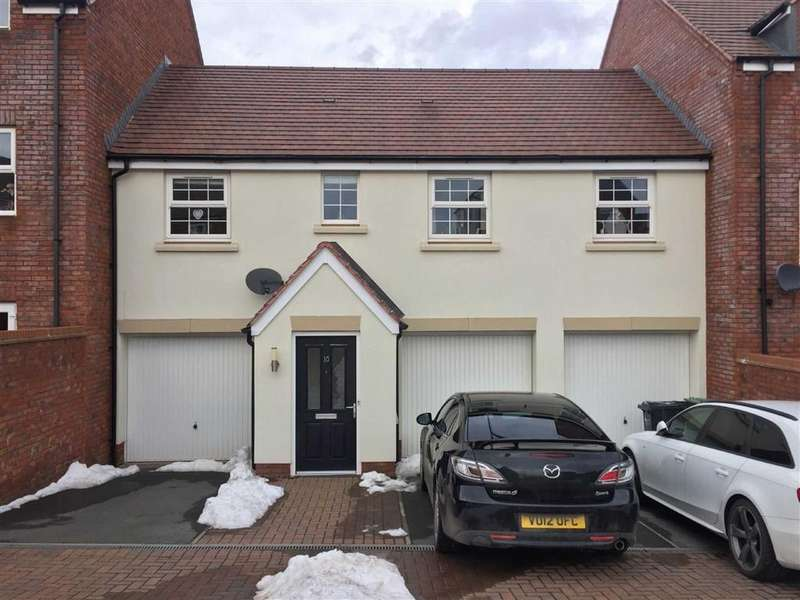2 Bedrooms Semi Detached House for sale in Dymock Red Walk, Holmer, Hereford