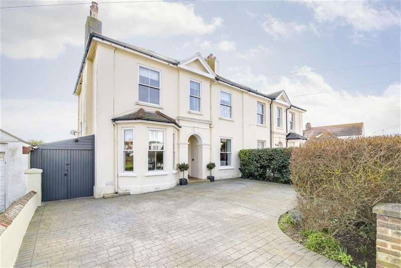 4 Bedrooms Semi Detached House for sale in Salisbury Road, Seaford