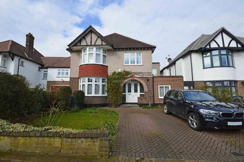4 Bedrooms Detached House for sale in Parkside, Mill Hill