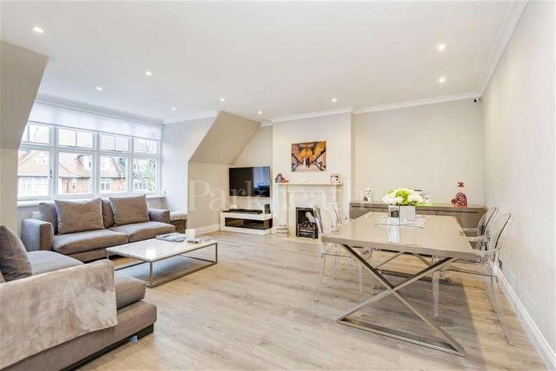 2 Bedrooms Flat for sale in Bracknell Gardens, Hampstead, London