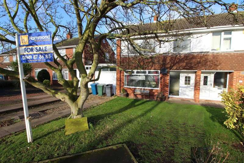 3 Bedrooms Semi Detached House for sale in Brewsters Close, Bingham, Nottingham