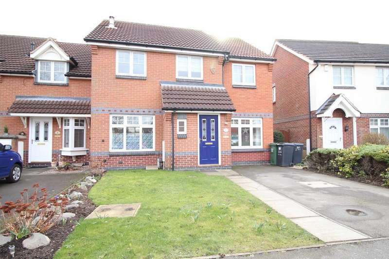 4 Bedrooms Town House for sale in Orchard Close, Shepshed