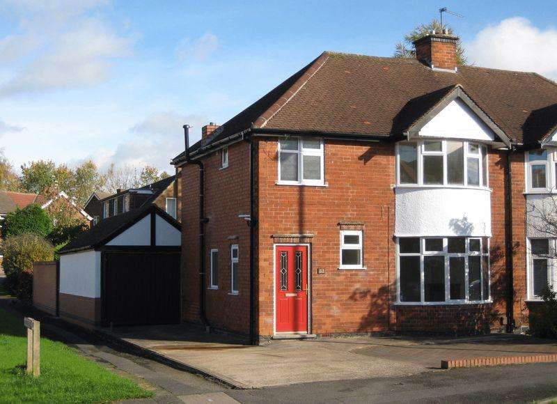 3 Bedrooms Semi Detached House for sale in KINGS DRIVE, LITTLEOVER