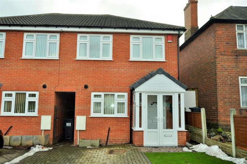 2 Bedrooms Semi Detached House for sale in Regis Road, Rowley Regis