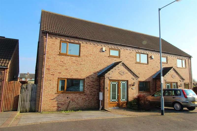 4 Bedrooms Semi Detached House for sale in Oxborough Road, Arnold, Nottingham