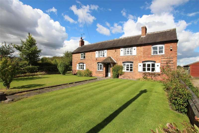 5 Bedrooms Detached House for sale in Lullington Road, Edingale, Tamworth, Staffordshire