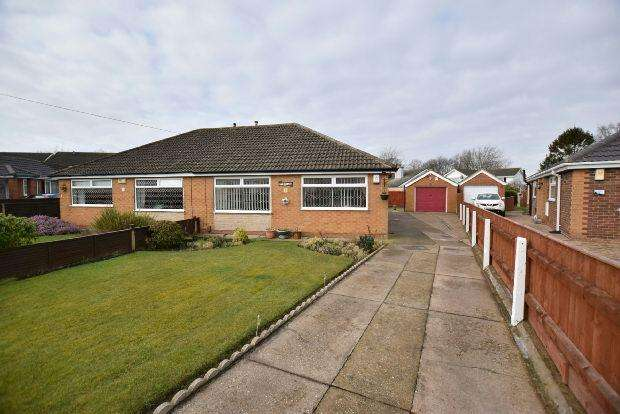 2 Bedrooms Semi Detached Bungalow for sale in Haverstoe Place, Cleethorpes