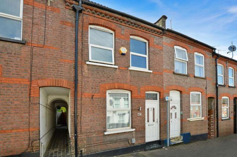 2 Bedrooms Terraced House for sale in Hartley Road, Round Green, Luton, LU2 0HY