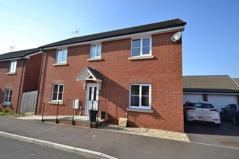4 Bedrooms Detached House for sale in Cromwell Close, Newtown, Berkeley, Glos, GL13 9GA