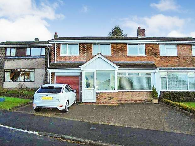 3 Bedrooms Semi Detached House for sale in The Meadows, West Rainton, Houghton le Spring, Tyne and Wear