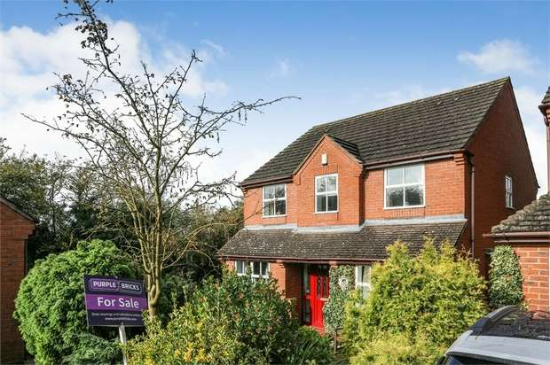 4 Bedrooms Detached House for sale in Moor Croft, Rugeley, Staffordshire