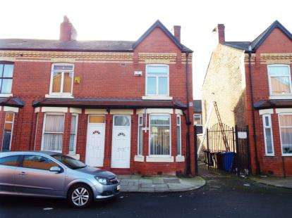 2 Bedrooms End Of Terrace House for sale in Coniston Street, Salford, Greater Manchester