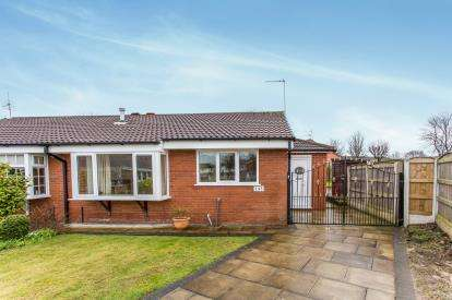 2 Bedrooms Bungalow for sale in Montrose Close, Fearnhead, Warrington, Cheshire