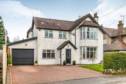 5 Bedrooms Detached House for sale in Old Croft Road, Walton On The Hill, Stafford, Stafforshire