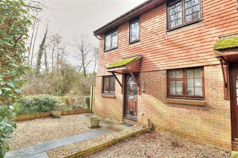 2 Bedrooms End Of Terrace House for sale in Monmouth Close, Valley Park, Chandlers Ford, Hampshire