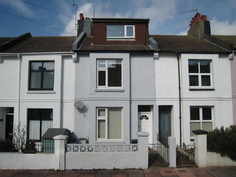 4 Bedrooms Terraced House for sale in Carisbrooke road, brighton BN2