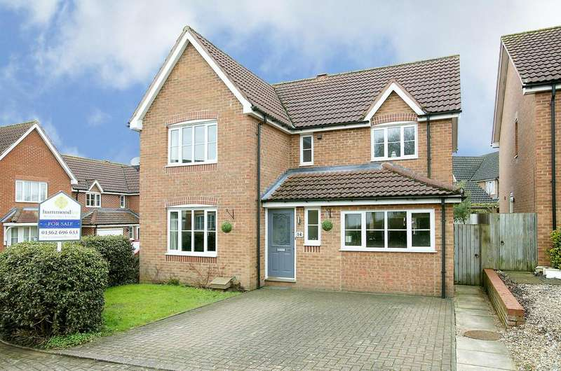 4 Bedrooms Detached House for sale in De Havilland Road, Dereham