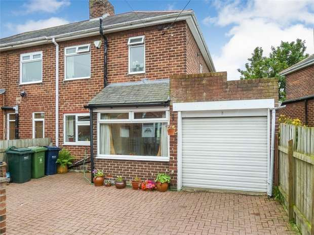2 Bedrooms Semi Detached House for sale in Meadowfield Crescent, Ryton, Tyne and Wear
