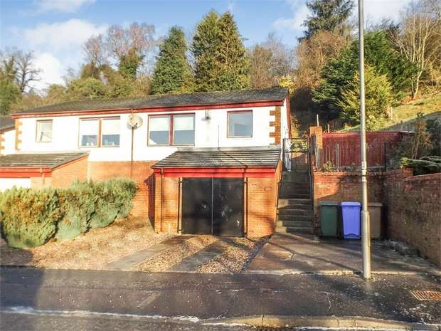 2 Bedrooms Semi Detached House for sale in East Church Court, Newmilns, East Ayrshire