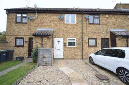 2 Bedrooms Terraced House for sale in Chiltern Gardens, Waller Avenue, Luton, Bedfordshire