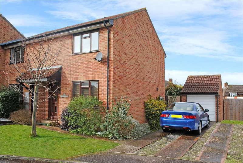 2 Bedrooms End Of Terrace House for sale in Lavender Grove, Bishops Hull, Taunton, Somerset, TA1