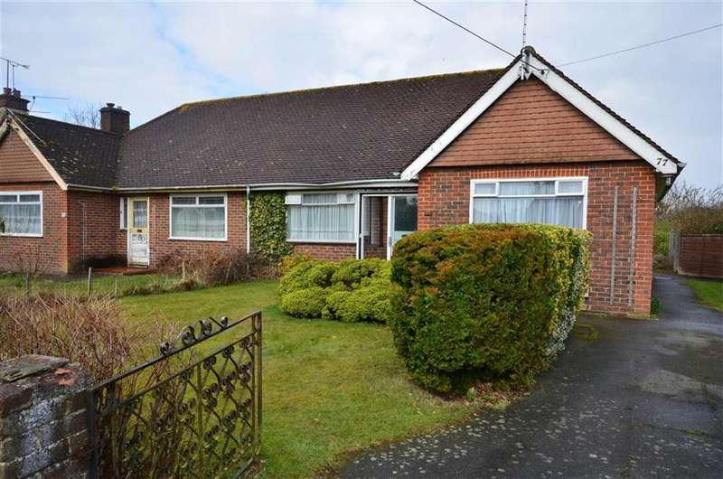 2 Bedrooms Semi Detached Bungalow for sale in Lower Weybourne Lane, Farnham