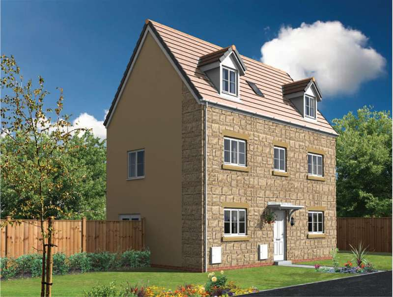 4 Bedrooms Detached House for sale in Plot 87 Royal Wootton Bassett