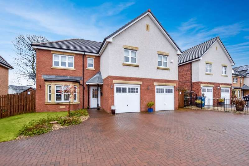 5 Bedrooms Detached House for sale in Broomhouse Crescent, Uddingston, Glasgow, G71