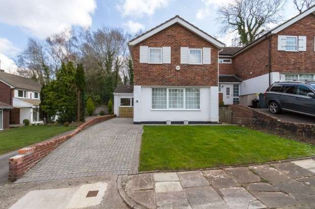 3 Bedrooms Detached House for rent in Briarwood Drive, Cardiff, CF23