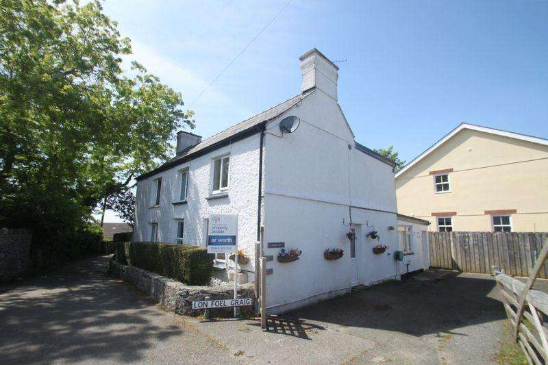 3 Bedrooms Semi Detached House for sale in Llanfairpwllgwyngyll, Anglesey. For Sale By Auction 12th April 2018 Subject to Auction Terms Conditions