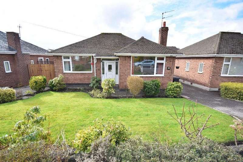 2 Bedrooms Detached Bungalow for sale in Evesham Road, Cheadle