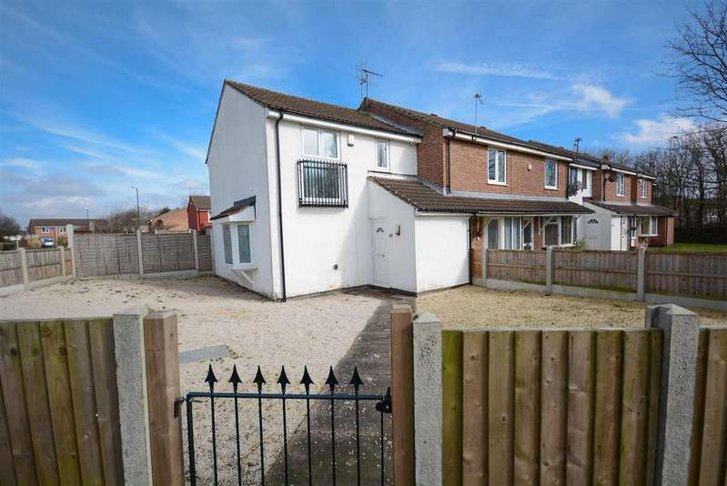 3 Bedrooms End Of Terrace House for sale in Pieris Drive, Nottingham