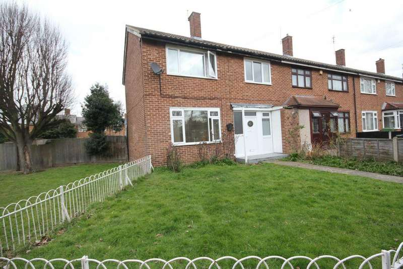 3 Bedrooms End Of Terrace House for sale in Brimpsfield Close, London, SE2