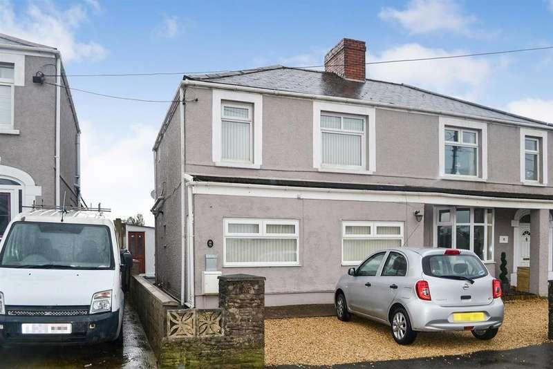 3 Bedrooms Semi Detached House for sale in Gorseinon Road, Penllergaer, Swansea