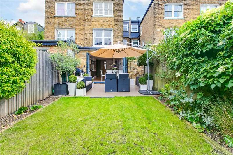 5 Bedrooms Terraced House for sale in Elm Grove Road, Barnes, London