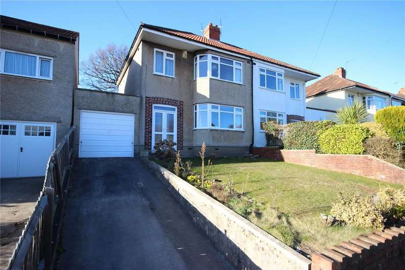 3 Bedrooms Semi Detached House for sale in Arbutus Drive, Coombe Dingle, Bristol, BS9