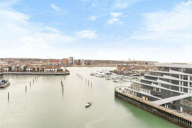 2 Bedrooms Flat for rent in Alexandra Wharf, 2 Maritime Walk, Ocean Village, Southampton, Hampshire