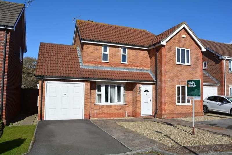 3 Bedrooms Detached House for sale in Capell Close, Weston-super-Mare