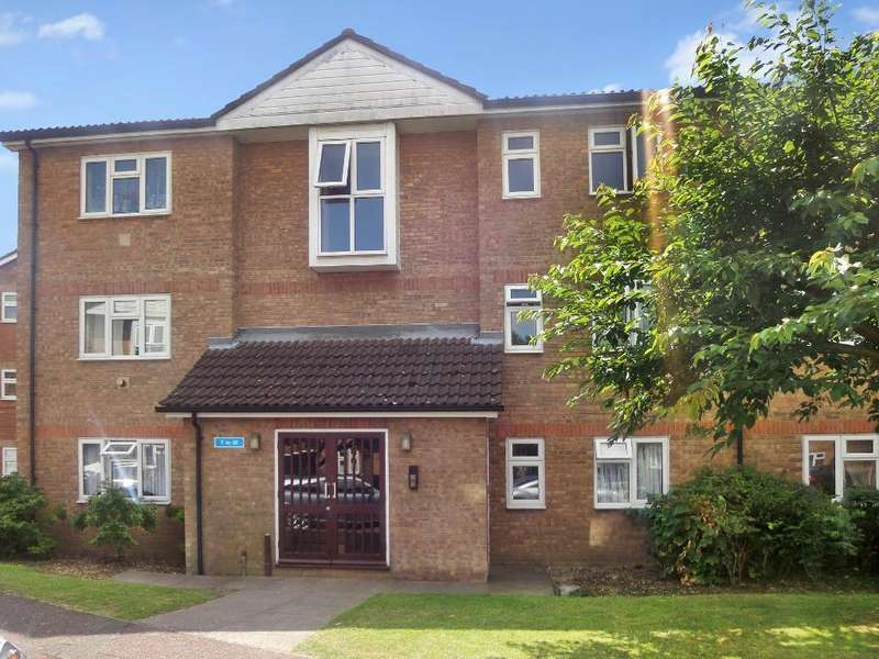 2 Bedrooms Apartment Flat for sale in Quilter Close, Luton, Bedfordshire, LU3 2LL