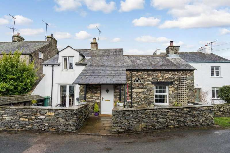 3 Bedrooms Cottage House for sale in Longrigg, Newton in Cartmel, Grange over Sands, Cumbria. LA11 6JJ
