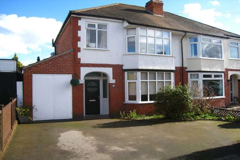 3 Bedrooms Semi Detached House for sale in Moat Avenue, Coventry, CV3