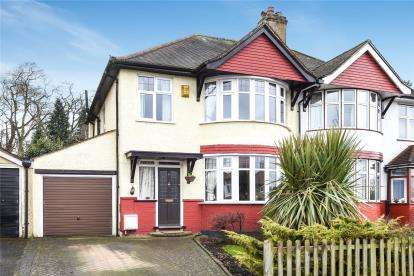 3 Bedrooms Semi Detached House for sale in South Way, Croydon