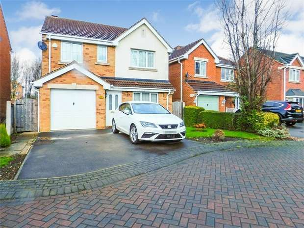 4 Bedrooms Detached House for sale in Watchley Gardens, Goldthorpe, Rotherham, South Yorkshire