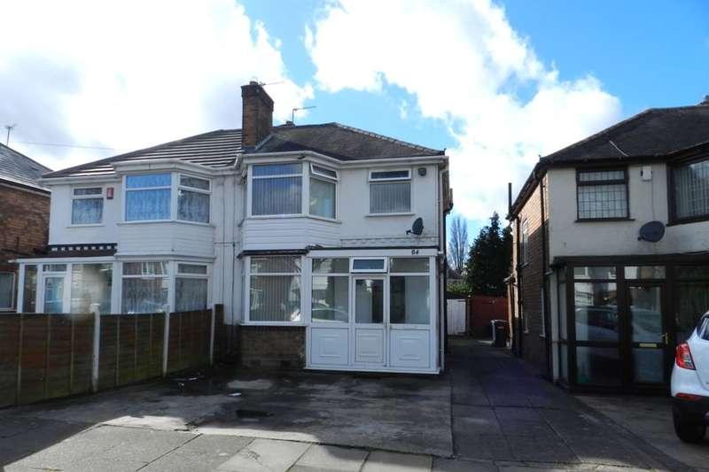 3 Bedrooms Semi Detached House for sale in Millington Road, Hodge Hill, Birmingham, B36