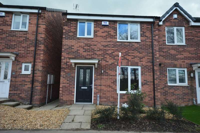 3 Bedrooms Semi Detached House for sale in Furnace Hill Road, Clay Cross, Chesterfield, S45