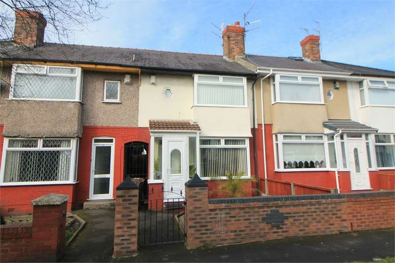 3 Bedrooms Terraced House for sale in Hatton Hill Road, Litherland, Merseyside