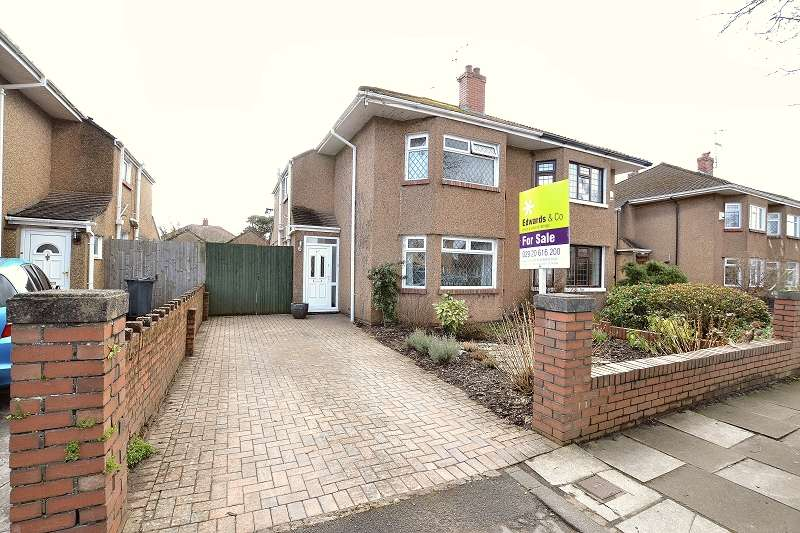 3 Bedrooms Semi Detached House for sale in St. Isan Road, Heath, Cardiff. CF14 4LW