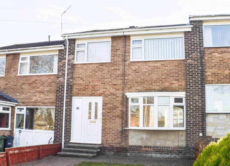 3 Bedrooms Terraced House for sale in Horsley Avenue, Crawcrook, NE40