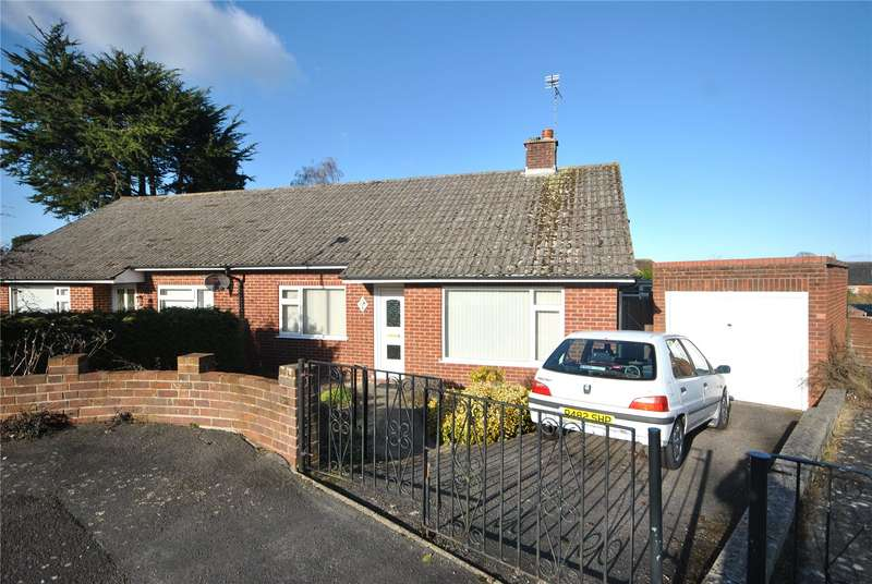 2 Bedrooms Semi Detached Bungalow for sale in King Ceol Close, Chard, Somerset, TA20