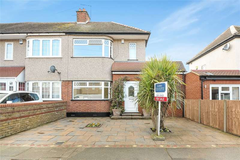 4 Bedrooms End Of Terrace House for sale in Appledore Avenue, South Ruislip, Middlesex, HA4